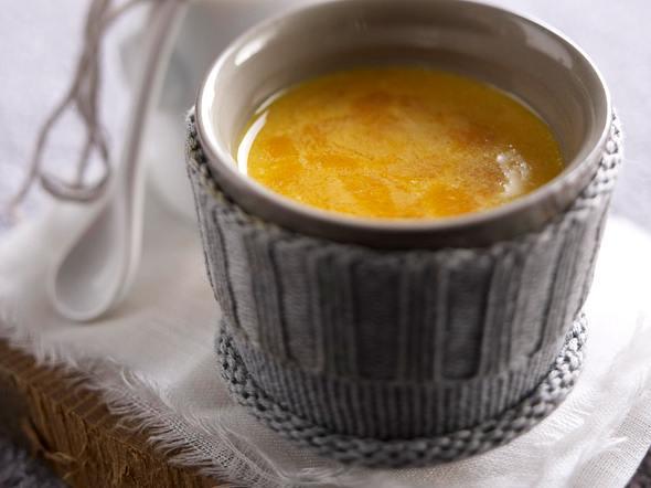 Heiße Sanddornmilch Rezept