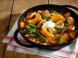 Herbstlicher Hähnchen-Kürbis-Eintopf Rezept