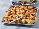 Herbstlicher Marzipan-Obstkuchen Rezept