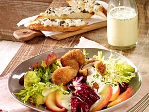 Herbstlicher Salat  Rezept