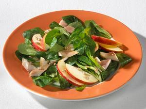 Herbstsalat mit Forelle Rezept