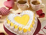 Herz-Zitronen-Kuchen Rezept