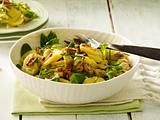 Herzhafter Kartoffelsalat mit Champignons und Lauchzwiebeln Rezept