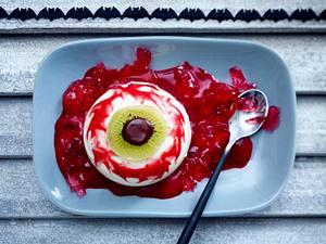 Himbeer-Blut-Unterlaufene Zombieaugen Rezept