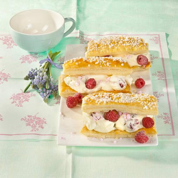 Himbeer-Friesenblechkuchen Rezept