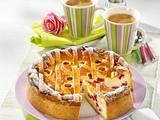 Himbeer-Käse-Gitter-Kuchen Rezept