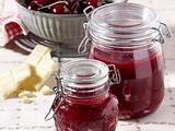 Himbeer-Kirsch-Konfitüre Rezept