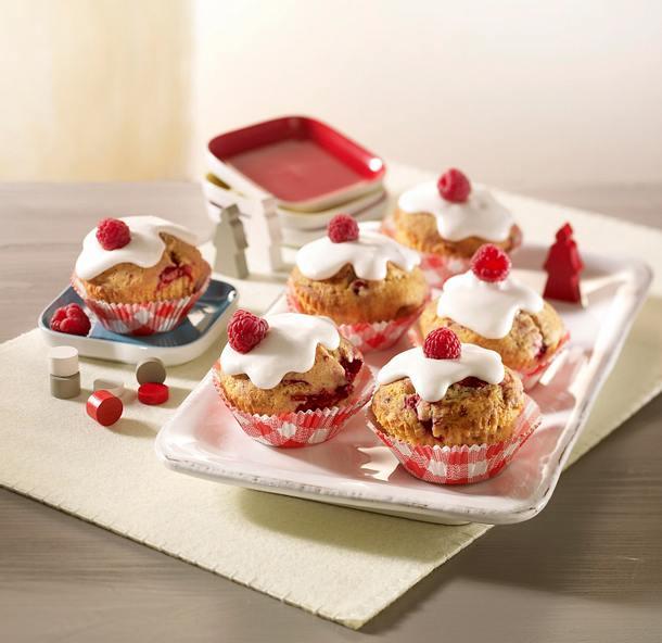 Himbeer-Muffins Rezept
