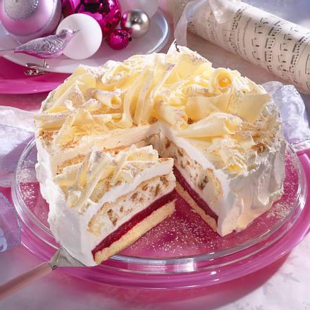 Himbeer-Spekulatius-Torte Rezept   LECKER