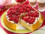 Himbeer-Stracciatella-Kuchen Rezept