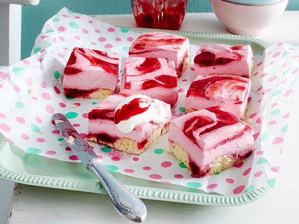 Himbeer-Swirl-Kuchen Rezept