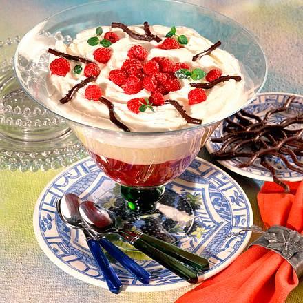 Himbeer-Vanillepudding-Schichtspeise Rezept