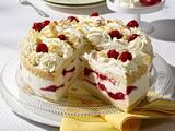 Himbeer-Zitronen-Sahne-Torte Rezept