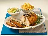 Hirtenschuh mit scharfem Krautsalat und Pommes frites Rezept