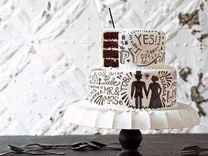 Hochzeitstorte Chocolate and Cream Rezept