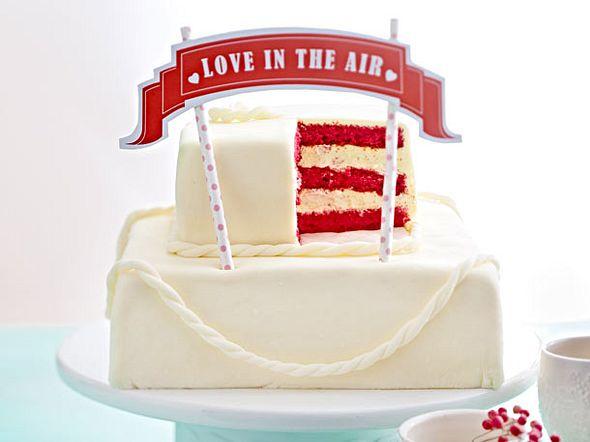 Hochzeitstorte mit Marshmallow-Fondant Rezept
