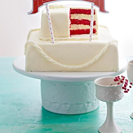 Hochzeitstorte mit Marshmallow-Fondant Rezept  Lecker