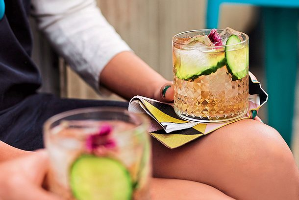 Holunder-Gin-Tonic Rezept