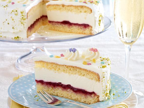 Holunder-Prosecco-Torte Rezept