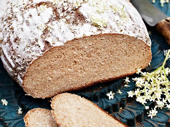 Holunderblüten-Brot Rezept