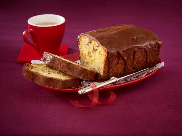 Honig-Aprikosen-Kuchen mit Marzipan-Sternen Rezept