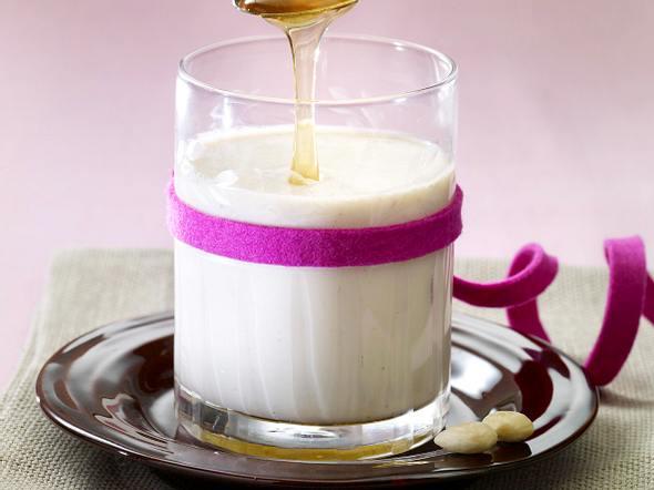 Honig-Mandel-Milch Rezept