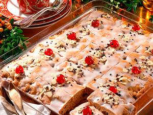 Honigkuchen auf dem Blech Rezept