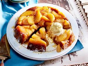 Honigkuchen-Tarte Tatin Rezept