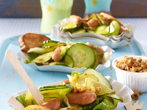 Hot-Dog-Salat Rezept