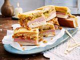 Hotdog-Sandwiches aus dem Ofen Rezept