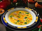 Hühner-Curry-Suppe Rezept