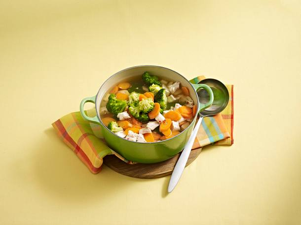 Hühner-Gemüse-Eintopf Rezept