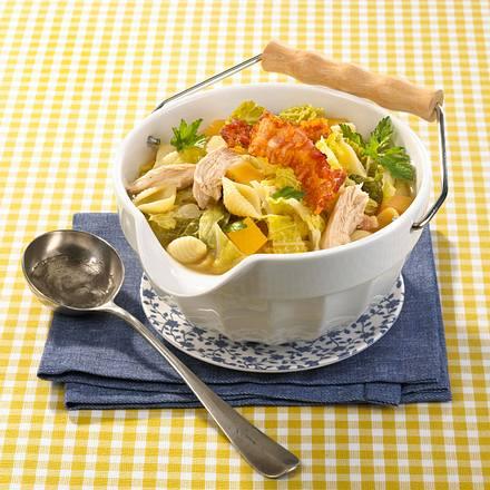 Hühner-Nudel-Suppe Rezept