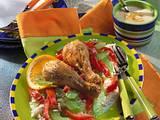 Hühnerkeulen mit Tomaten-Selleriegemüse (Diabetiker) Rezept
