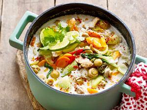 Hühnersuppe Tom Kha Gai Rezept