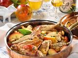 Huhn mit Calvados und Cidre Rezept