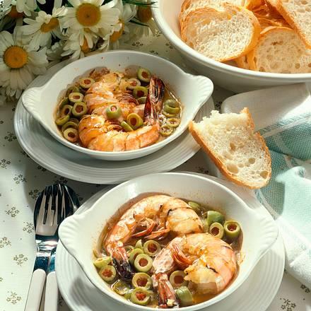 Hummerkrabben mit Oliven Rezept
