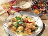 Indische Curry-Sesam-Bällchen Rezept