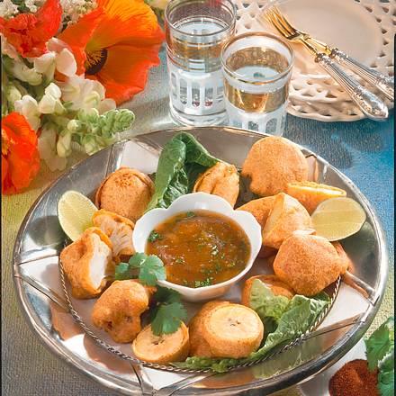 Indische Gemüse-Pakoras Rezept