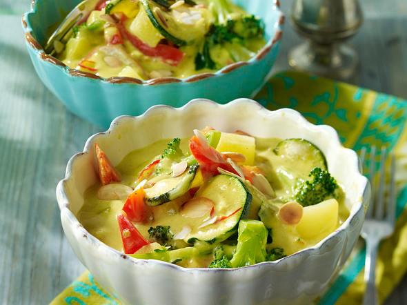 Indisches Gemüse-Curry mit Kartoffeln Rezept
