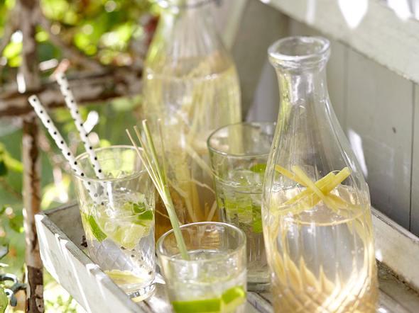 Ingwer-Limetten-Limo Rezept