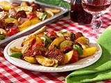 Italienische Bratkartoffeln vom Blech Rezept