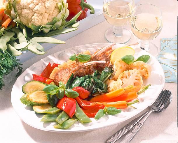 Italienische Gemüseplatte Rezept