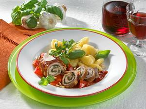 Italienische Kalbsröllchen Rezept