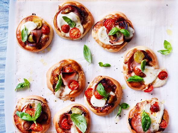 Italienische Pizzettas Rezept
