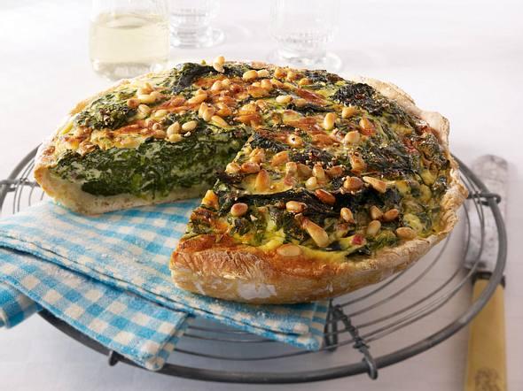 Italienische Ricotta-Spinat-Quiche Rezept