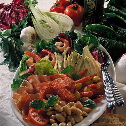 Italienische Vorspeisenplatte Rezept