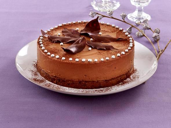 Italienische Weihnachts-Trüffel-Torte Rezept