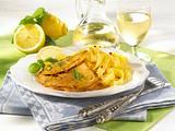 Italienische Zitronenschnitzel Rezept