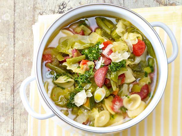 Italienischer Gemüse-Nudel-Topf Rezept